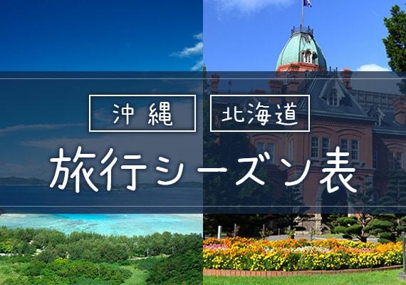 沖縄・北海道シーズン